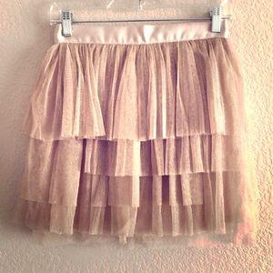 NWOT Layered Tulle Skirt